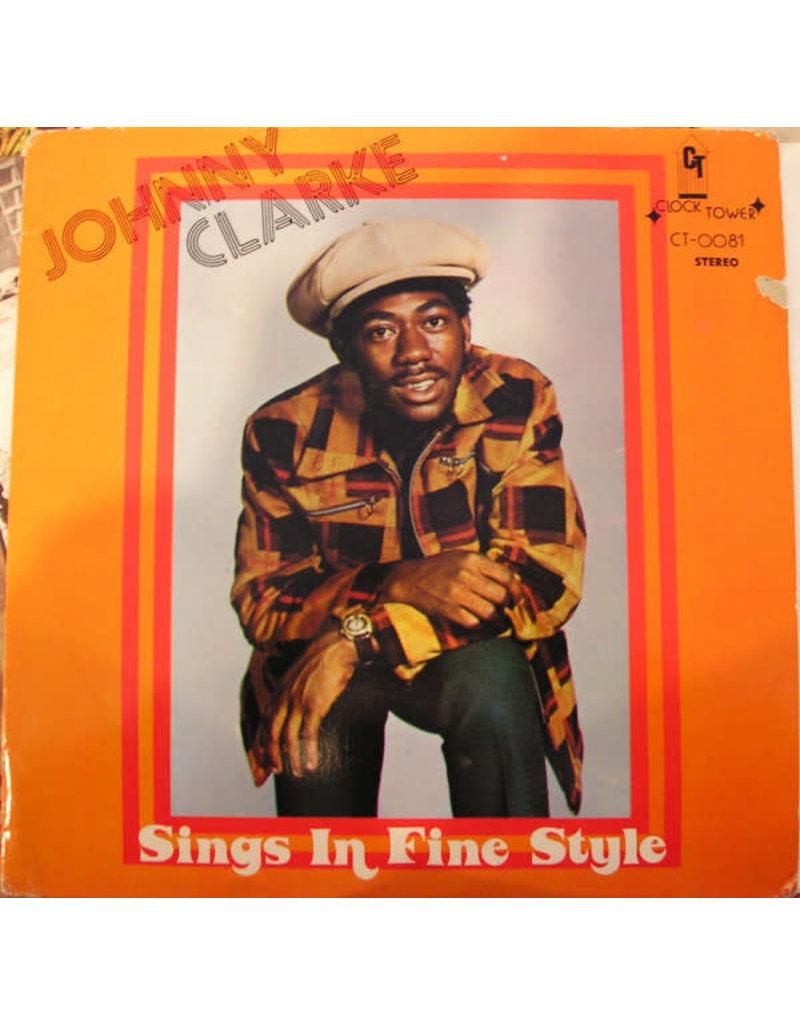 Johnny Clarke – Sings In Fine Style LP