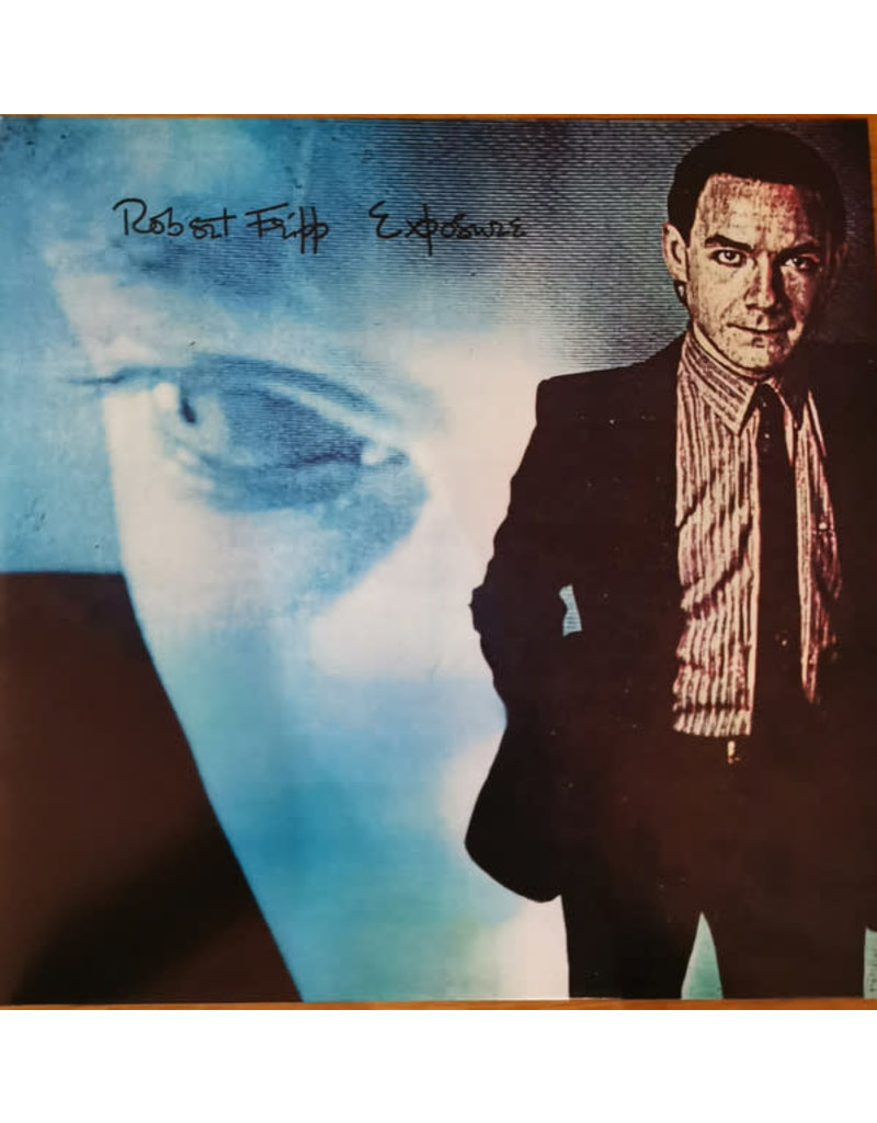 Robert Fripp ‎– Exposure 2LP