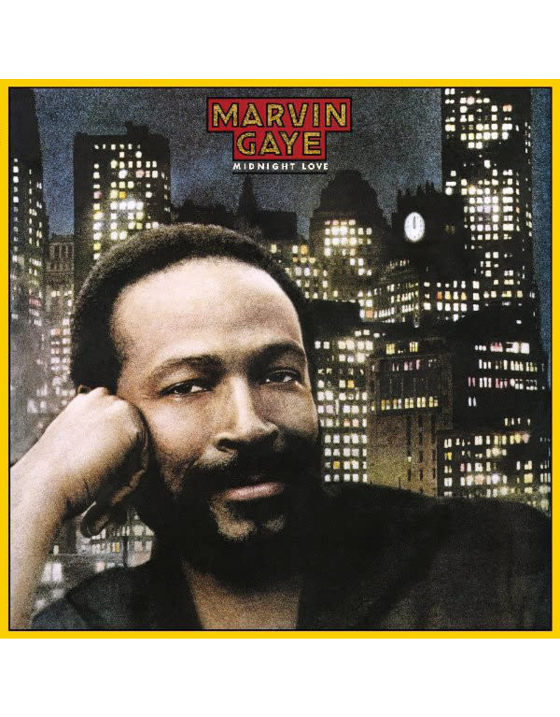 Marvin Gaye ‎– Midnight Love LP