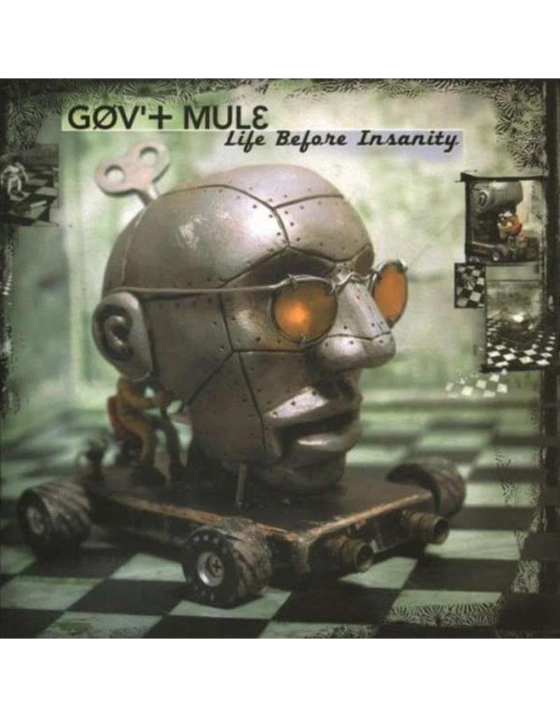Gov't Mule – Life Before Insanity 2LP (2020 Music On Vinyl Reissue), Limted 2000, Numbered, Green/Black Swirled Vinyl