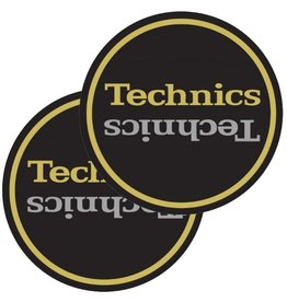 Technics Slipmat Gold Double Pack