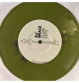 "BB DJ BRACE - CLOSE CUTS 7"" (OLIVE GREEN MARBLE VINYL)"