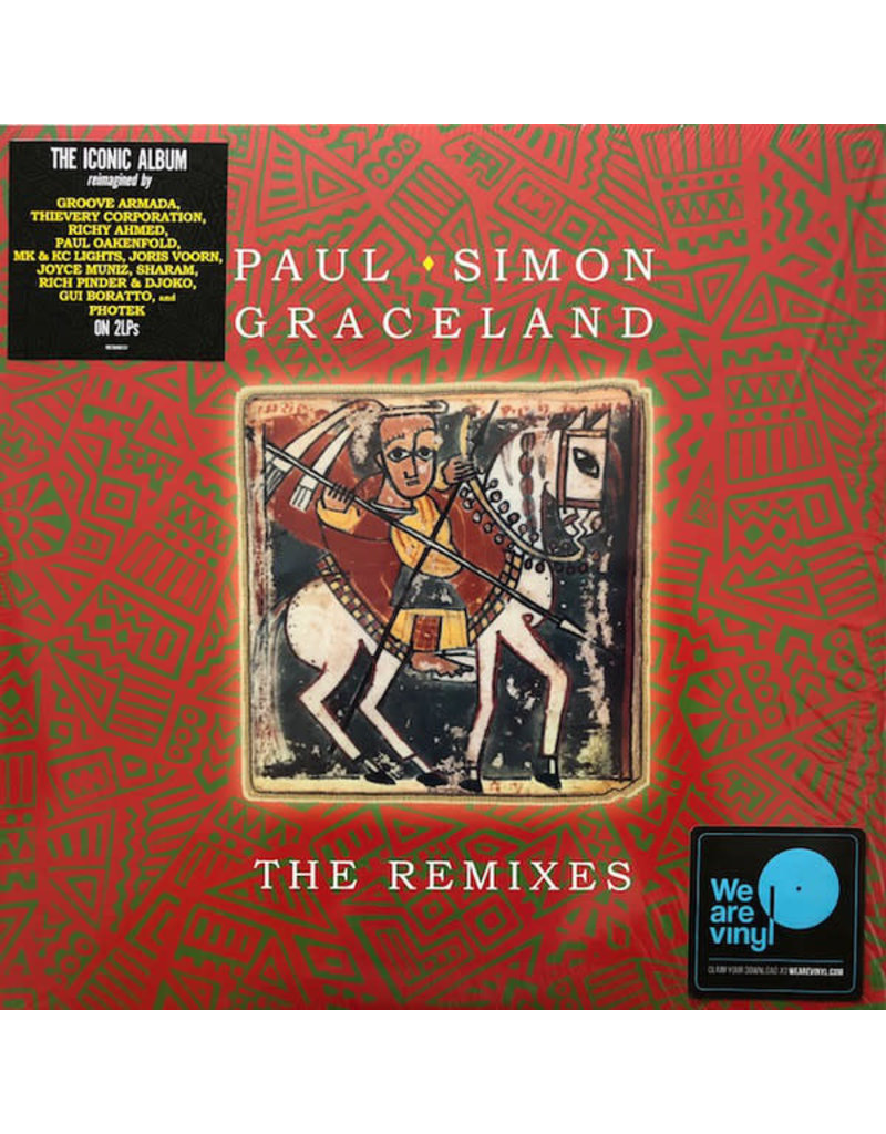 Paul Simon - Graceland (The Remixes) 2LP (2018 Compilation)