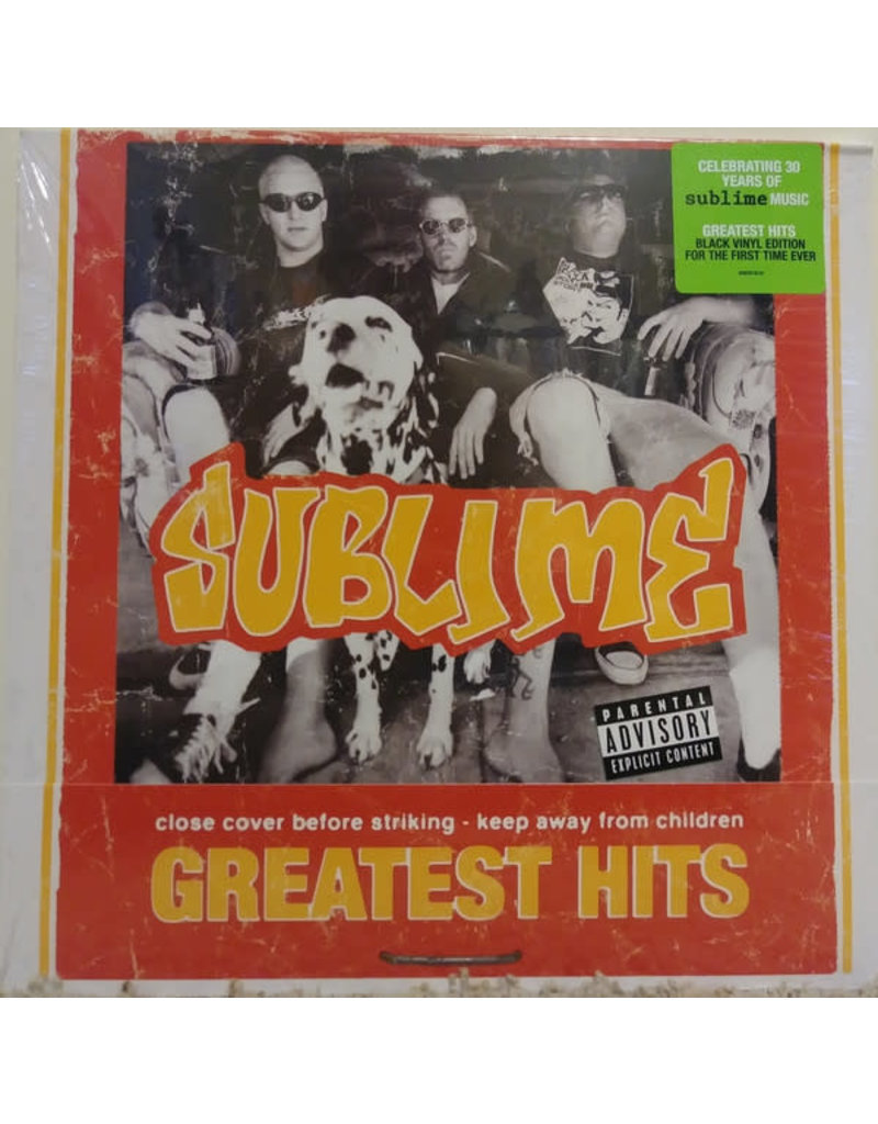 """Sublime - Greatest Hits LP (Yellow) +7"""" (Flexi Disc) (2018), Compilation"""