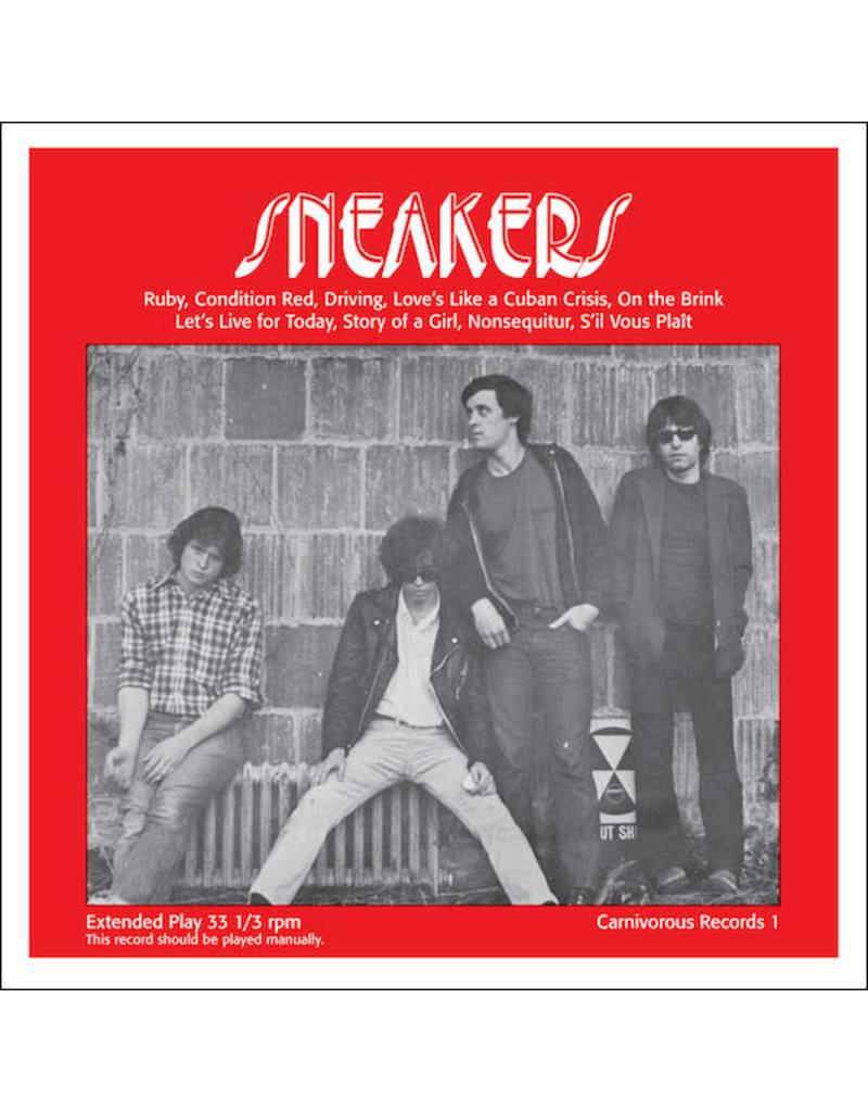 """RK SNEAKERS - SNEAKERS 10"""" LTD CLEAR VINYL"""