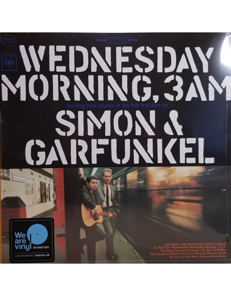 RK SIOMON & GARFUNKEL - WEDNESDAY MOENING, 3AM