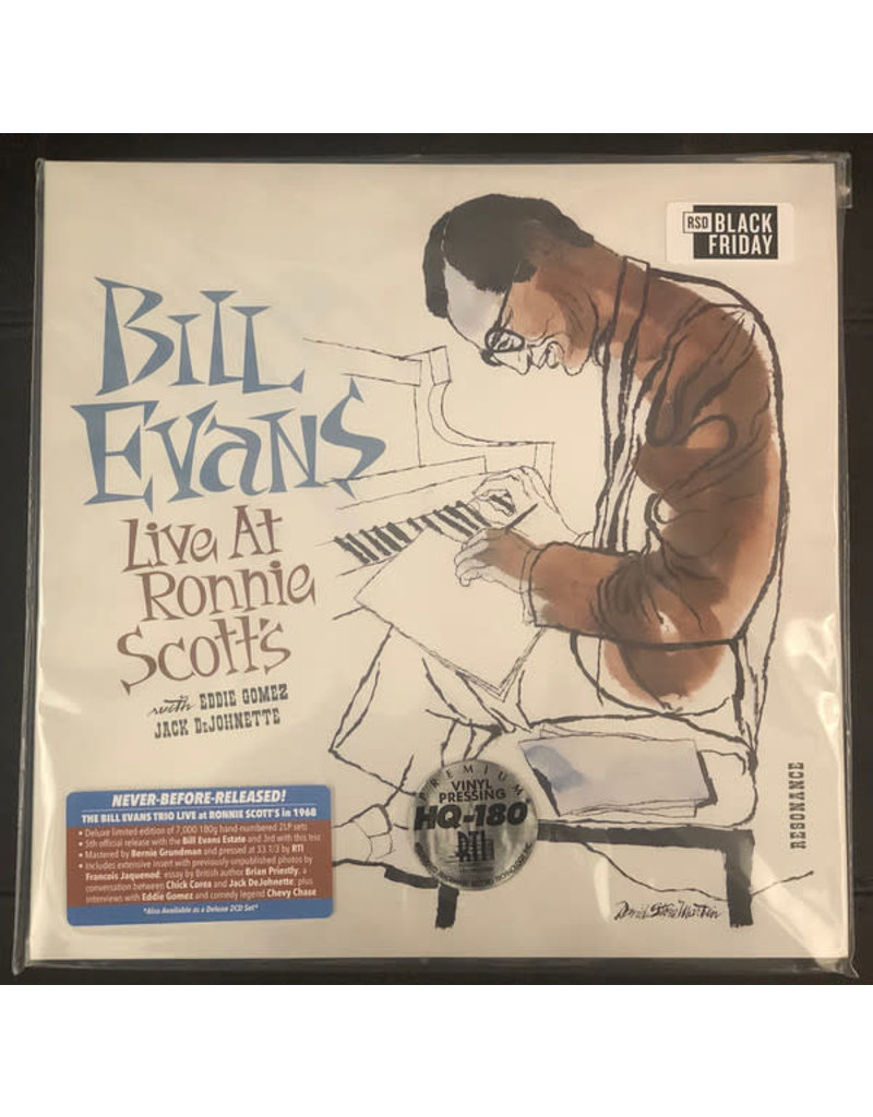 Bill Evans – Live At Ronnie Scott's 2LP, Limited Deluxe, Numbered [RSDBF2020]