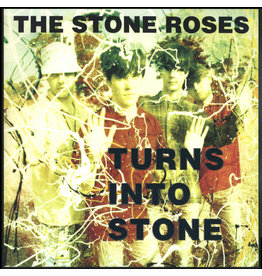 RK The Stone Roses - Turns Into Stone 2LP (2015 Reissue Compilation), Limited 4000, Numbered, Grey Marbled