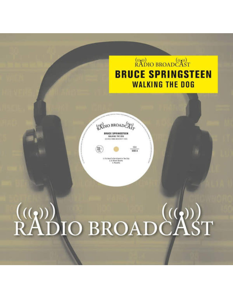 Bruce Springsteen - Walking The Dog (Georgetown University 1974) LP