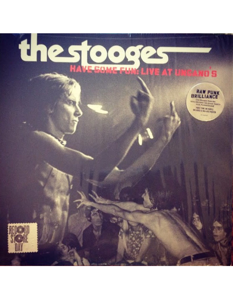 RK The Stooges – Have Some Fun: Live At Ungano's Limited Edition, Black/White Splatter RSD2015