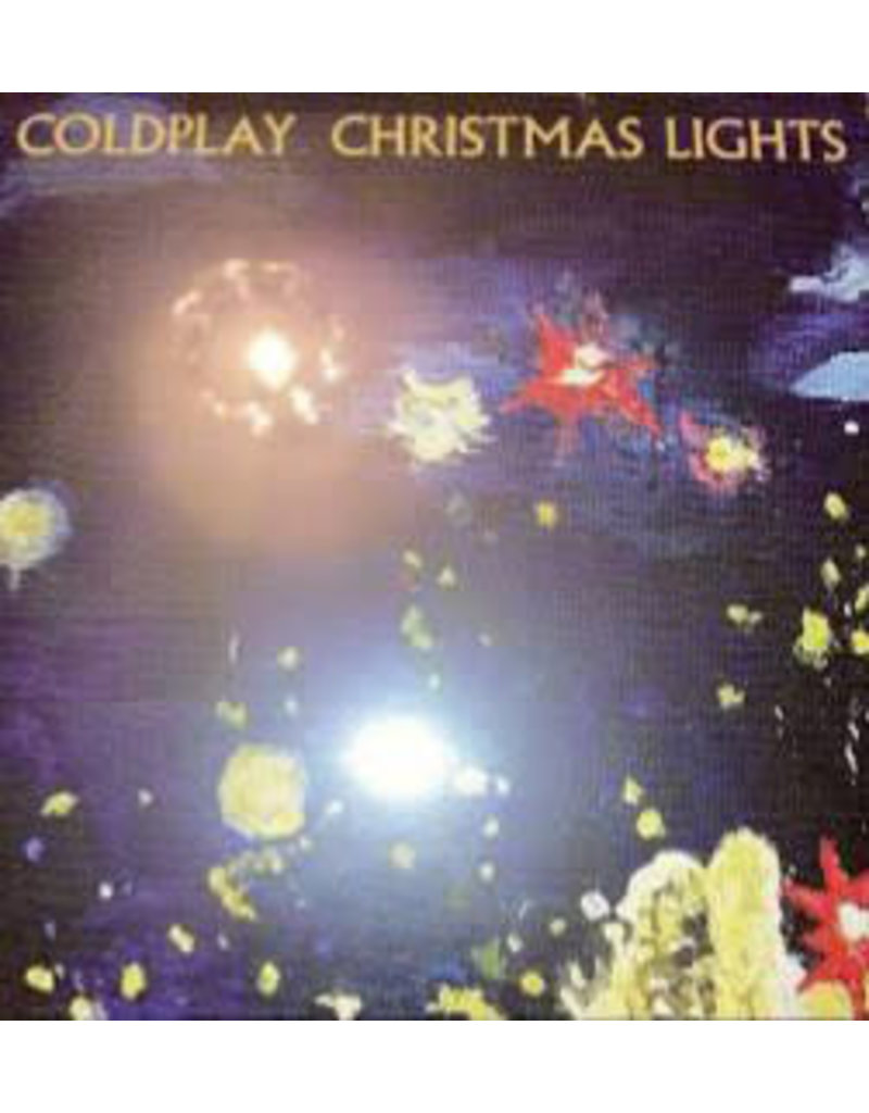 """Coldplay – Christmas Lights 7"""", Limited Edition, Reissue, Blue"""