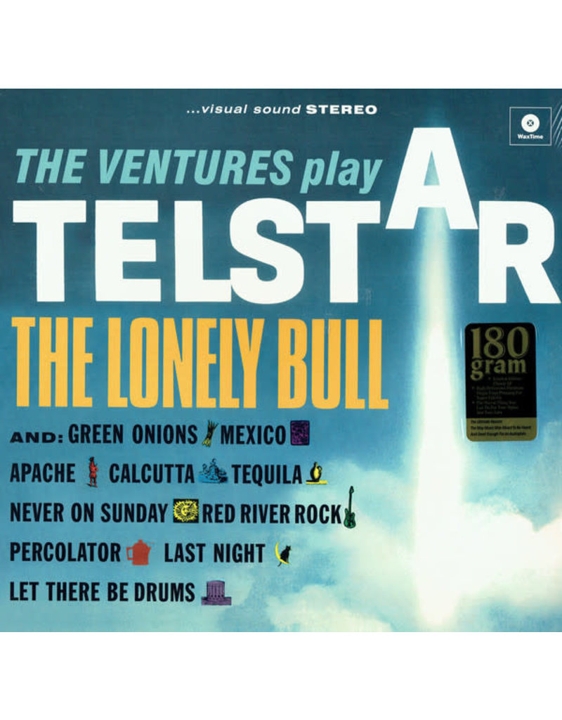 RK VENTURES - PLAYS TELSTAR (2 BNS TRK) LP