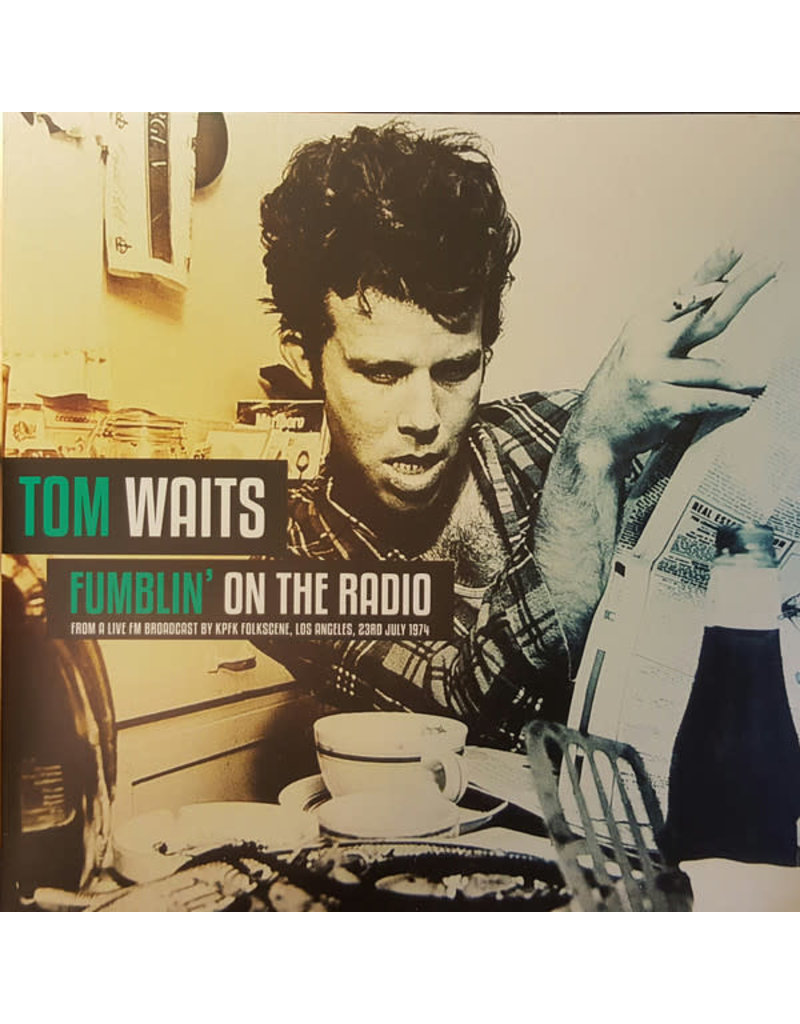 RK Tom Waits – Fumblin' On The Radio (2016)