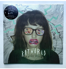 Menace Beach - Ratworld LP (2015), Clear With Green Splatter