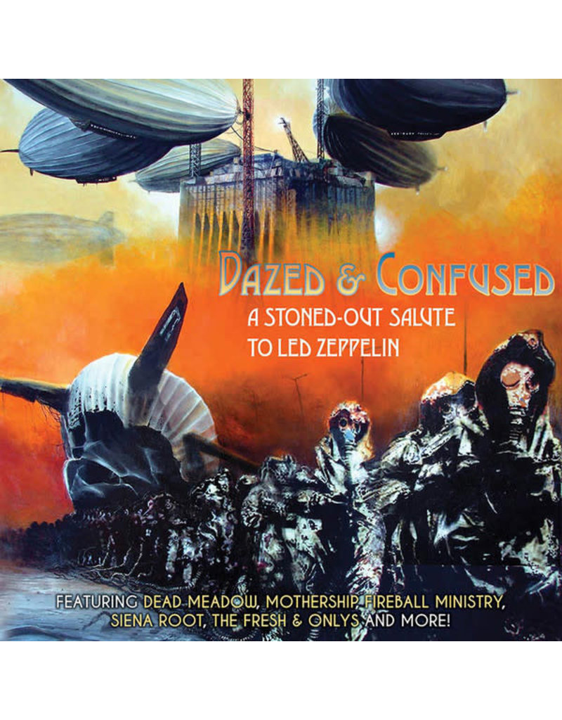RK V/A - Dazed And Confused - A Stoned-Out Salute To Led Zeppelin  (2LP)