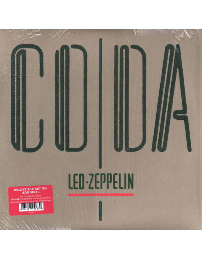 RK Led Zeppelin – Coda , Deluxe Edition, 2015 Reissue