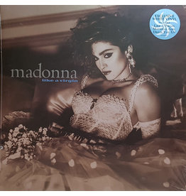 PO Madonna – Like A Virgin, Limited Edition, 2018 Reissue, White
