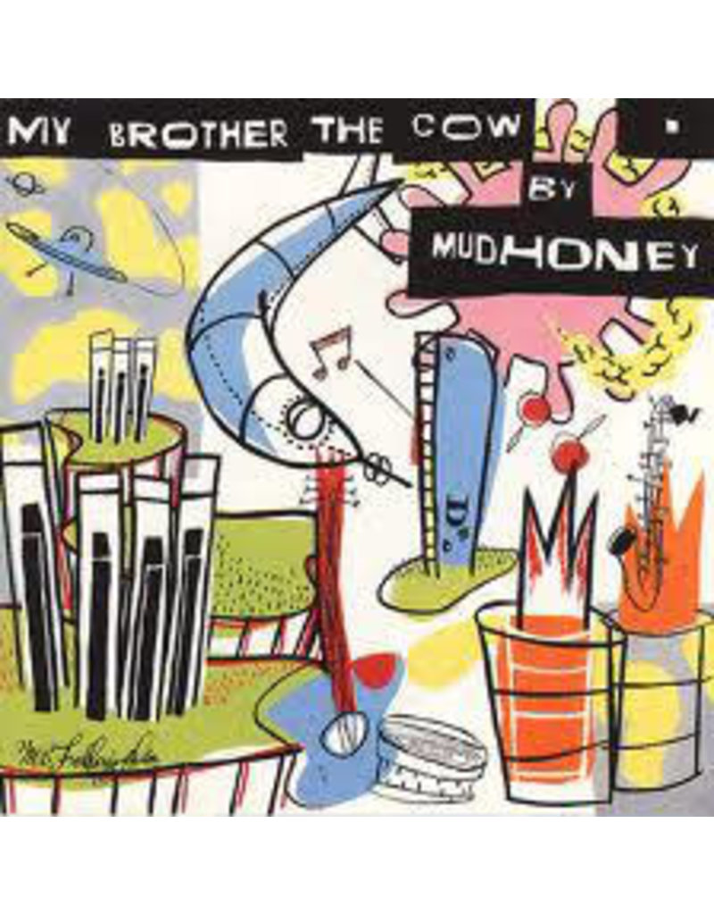 RK Mudhoney ‎– My Brother The Cow, 2014 Reissue, 180 gram