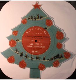 "XM The Jazz At Lincoln Center Orchestra* With Wynton Marsalis ‎– God Rest Ye Merry Gentleman / Little Drummer Boy (TREE SHAPED VINYL) 12"" [RSD2016]"