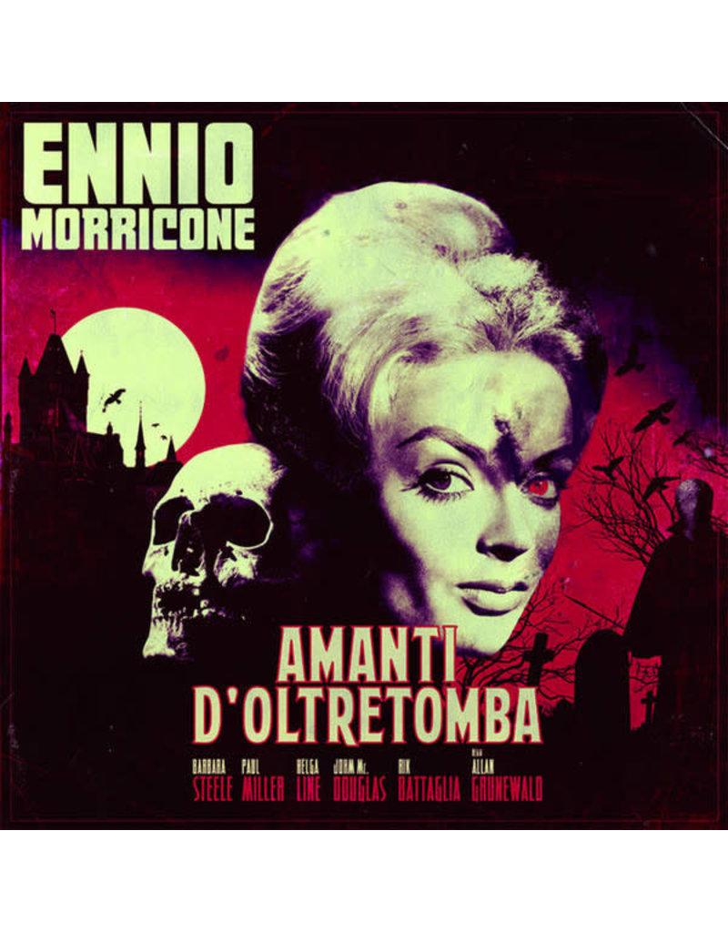 Ennio Morricone – Amanti D'Oltretomba (Colonna Sonora Originale) 2016, Bloody Red Marble, 180g