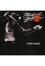 Michael Jackson - Who's Bad? LP 2020 (Clear Vinyl)