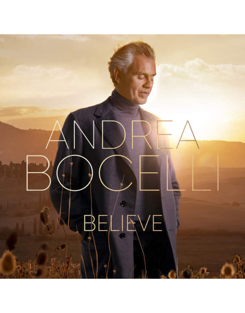 Andrea Bocelli – Believe 2LP (2020)