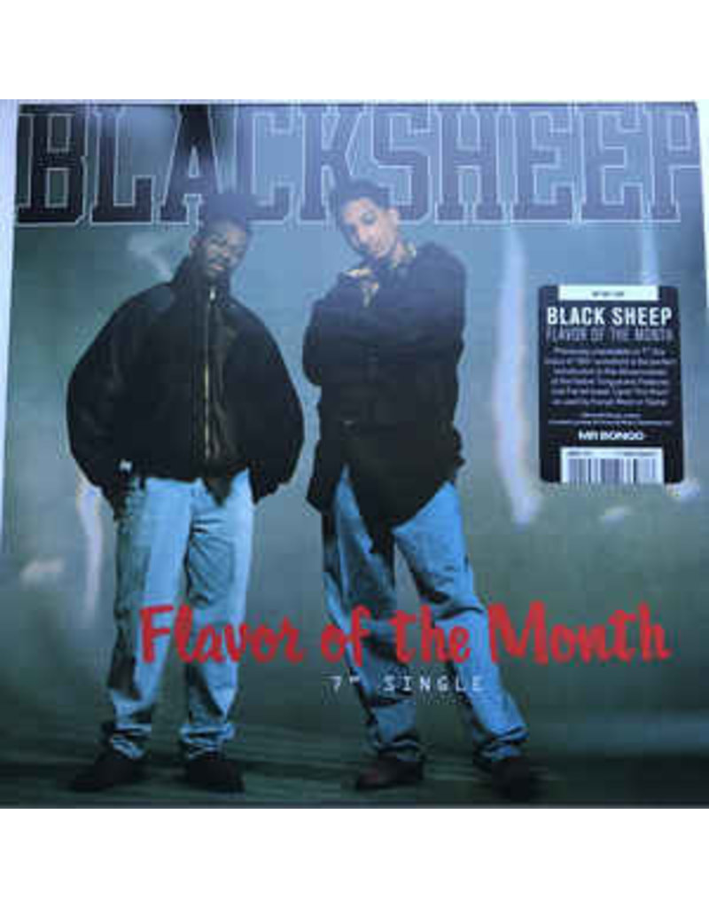 "Black Sheep ‎– Flavor Of The Month 7"" (2020 Reissue)"