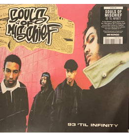 """Souls Of Mischief – 93 'Til Infinity 7"""", Limited Edition (2020)"""