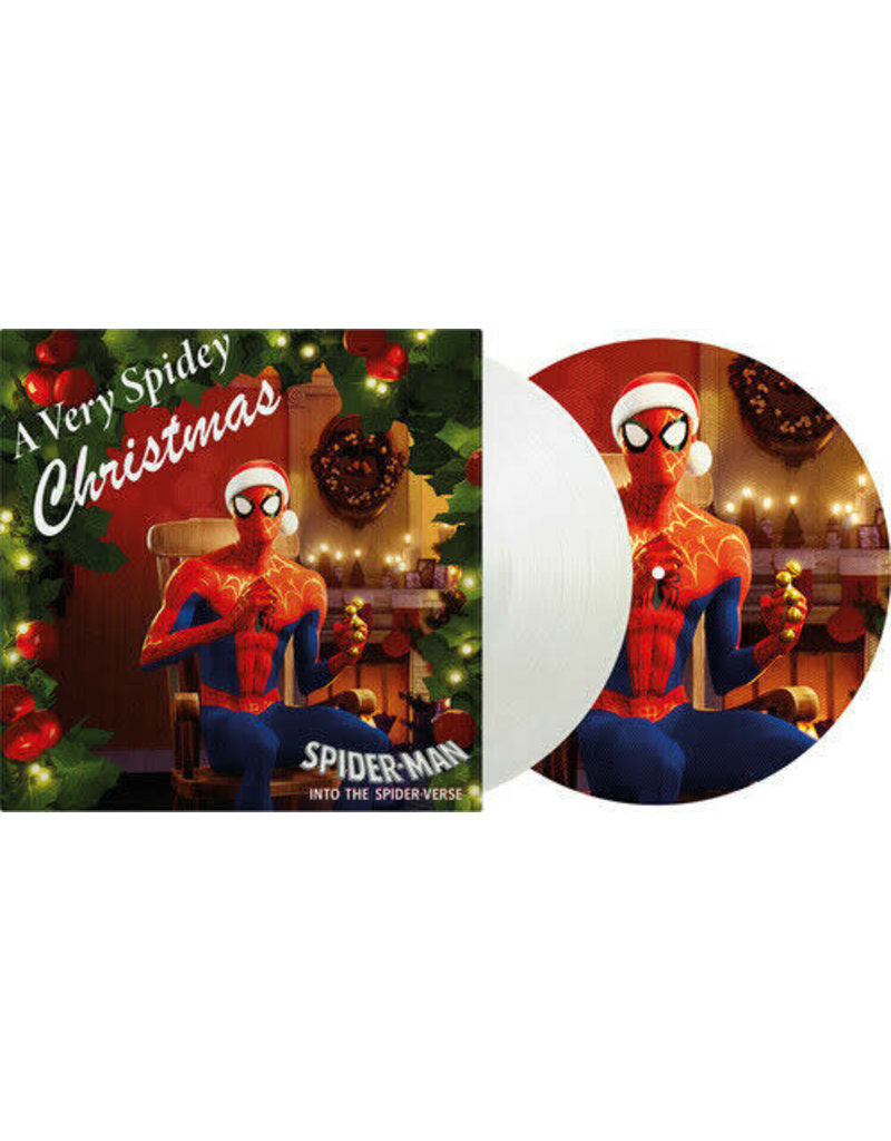 Various – A Very Spidey Christmas Single Sided, Limited Edition, Numbered, Picture Disc, White Vinyl 2020