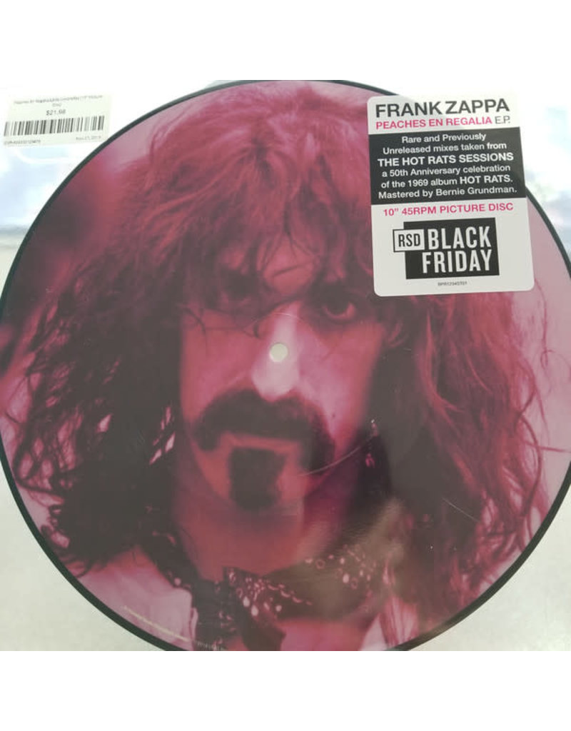 Frank Zappa - Peaches En Regalia EP