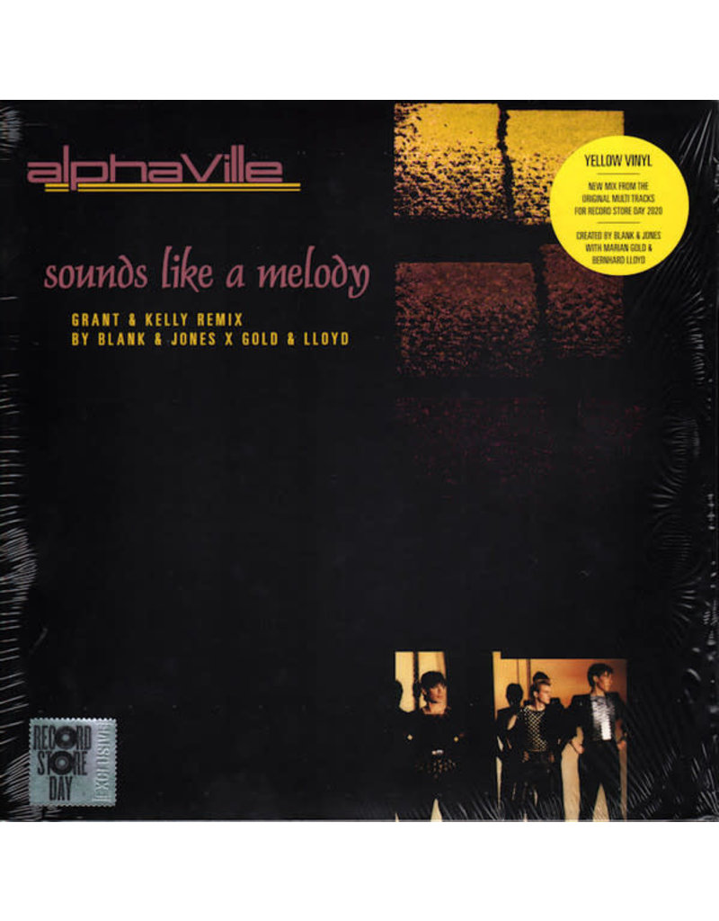 """Alphaville - Sounds Like A Melody 12"""", Limited Edition, Yellow [RSD2020]"""