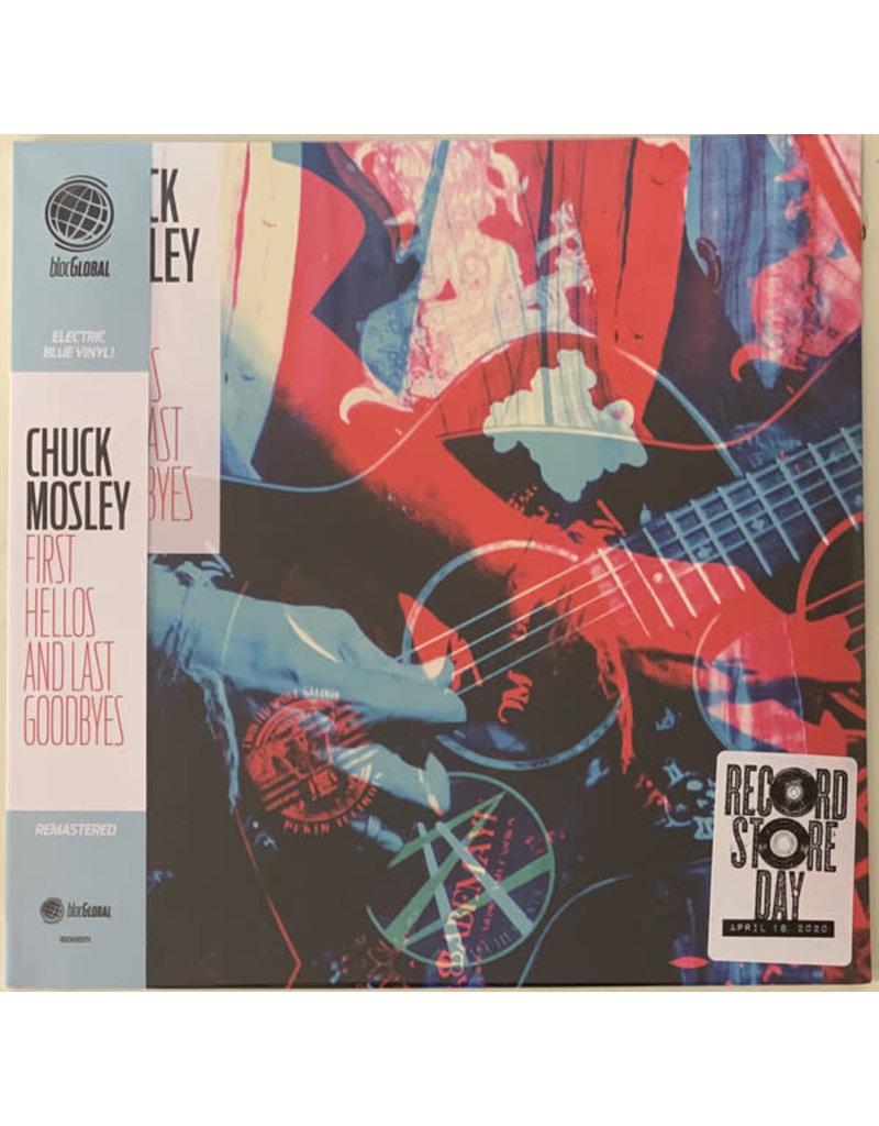 Chuck Mosley - First Hellos And Last Goodbyes (Aqua Blue Vinyl) LP [RSD2020]