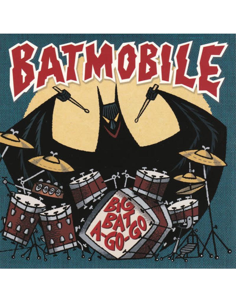 """Batmobile - Big Bat A Go-Go (Yellow Vinyl) 7"""" [RSD2020]"""