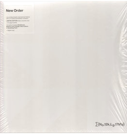 New Order + Liam Gillick ‎– ∑(No,12k,Lg,17Mif) New Order + Liam Gillick: So It Goes.., Limited Edition