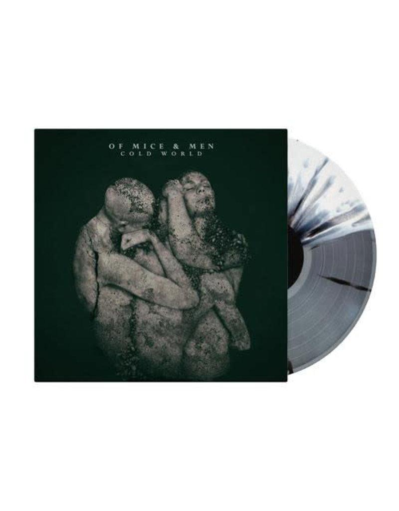 RK Of Mice & Men – Cold World , Limited Edition, Grey/ Bone White/ Splatter