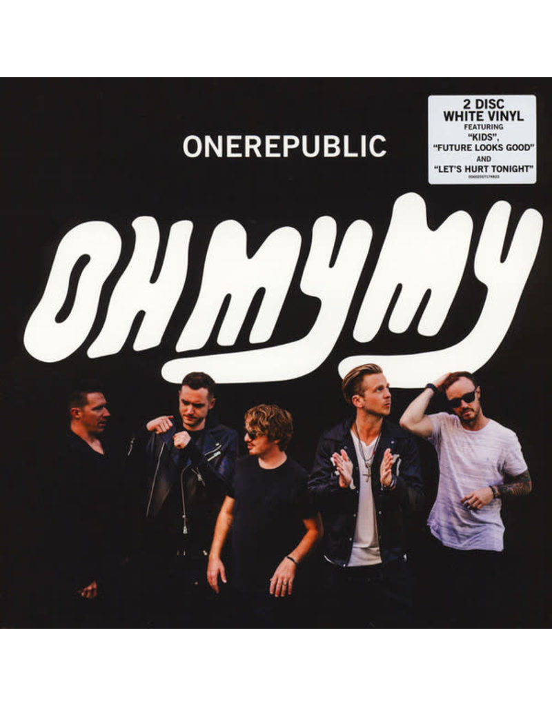 PO OneRepublic ‎– Oh My My 2LP, White (2016)