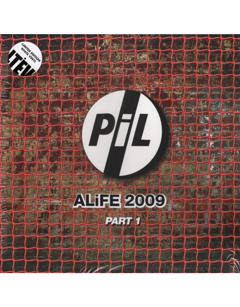 RK Public Image Limited - ALFIE 2009 PT. 1 2LP,  [RSD2015] Limited Edition, Reissue, White