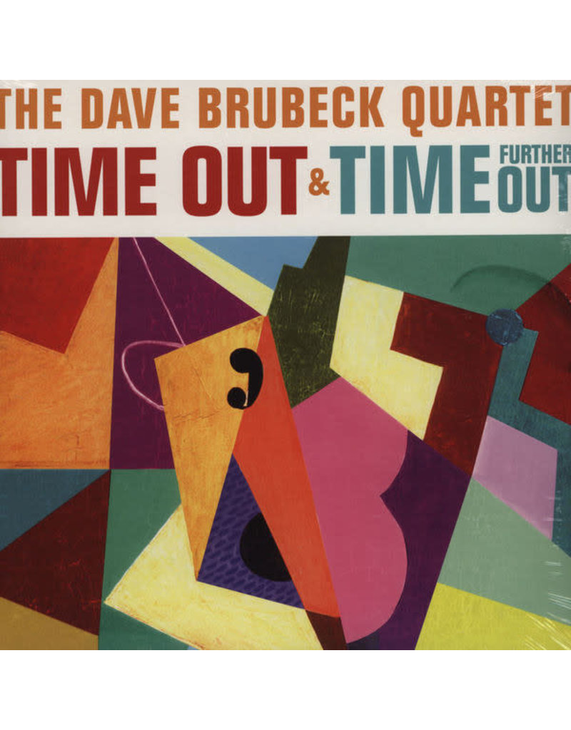 JZ Dave Brubeck Quartet - Time Out + Time Further Out (2 LP) (180 Gram Vinyl),2012 Compilation