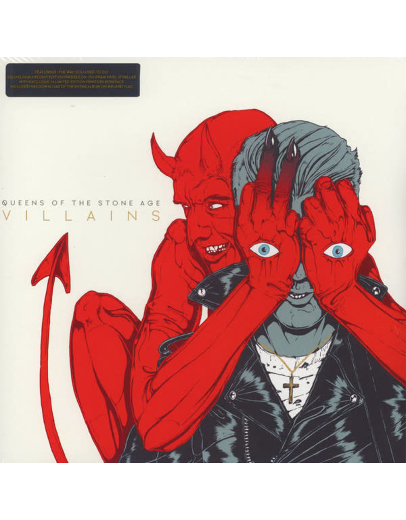 RK Queens Of The Stone Age ‎– Villains 2LP,  Deluxe Edition