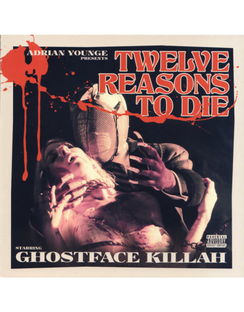 Ghostface Killah & Adrian Younge - Twelve Reasons To Die (CD)