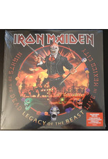 Iron Maiden ‎– Nights Of The Dead, Legacy Of The Beast: Live In Mexico City 180g 3LP (2020)