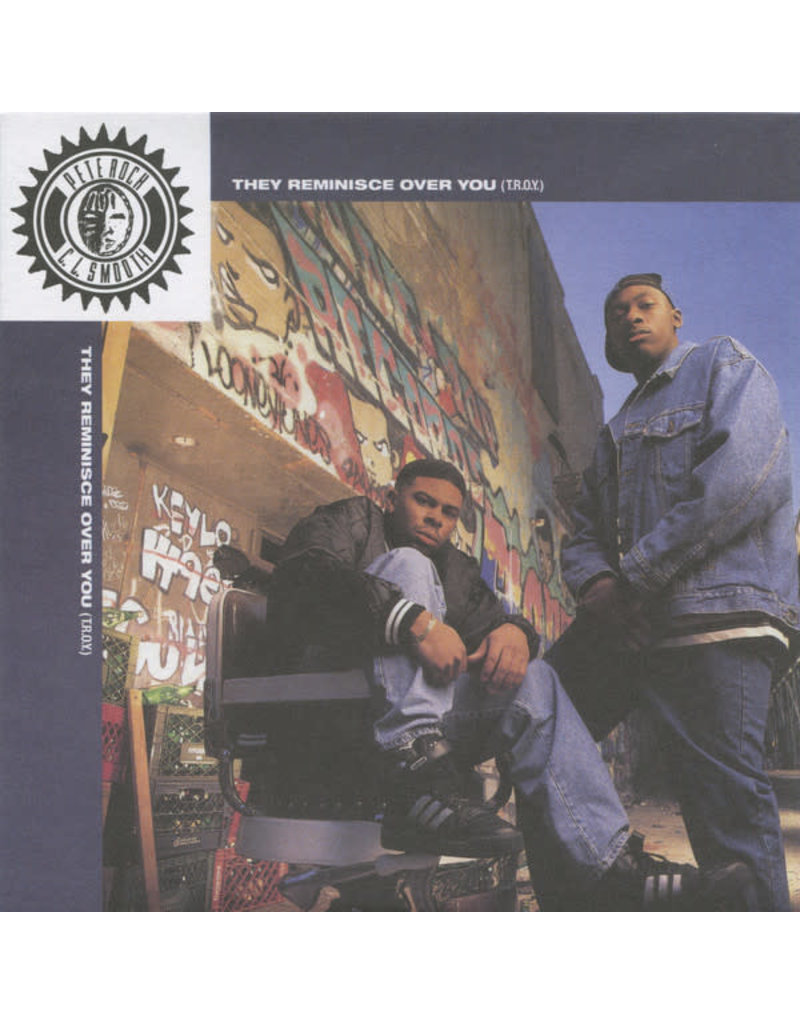 """HH Pete Rock & C.L. Smooth – They Reminisce Over You (T.R.O.Y.) 7"""""""