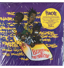 """The Pharcyde – Bizarre Ride II The Pharcyde 5LP 2017, Yellow translucent and blue translucent, 12"""" black"""