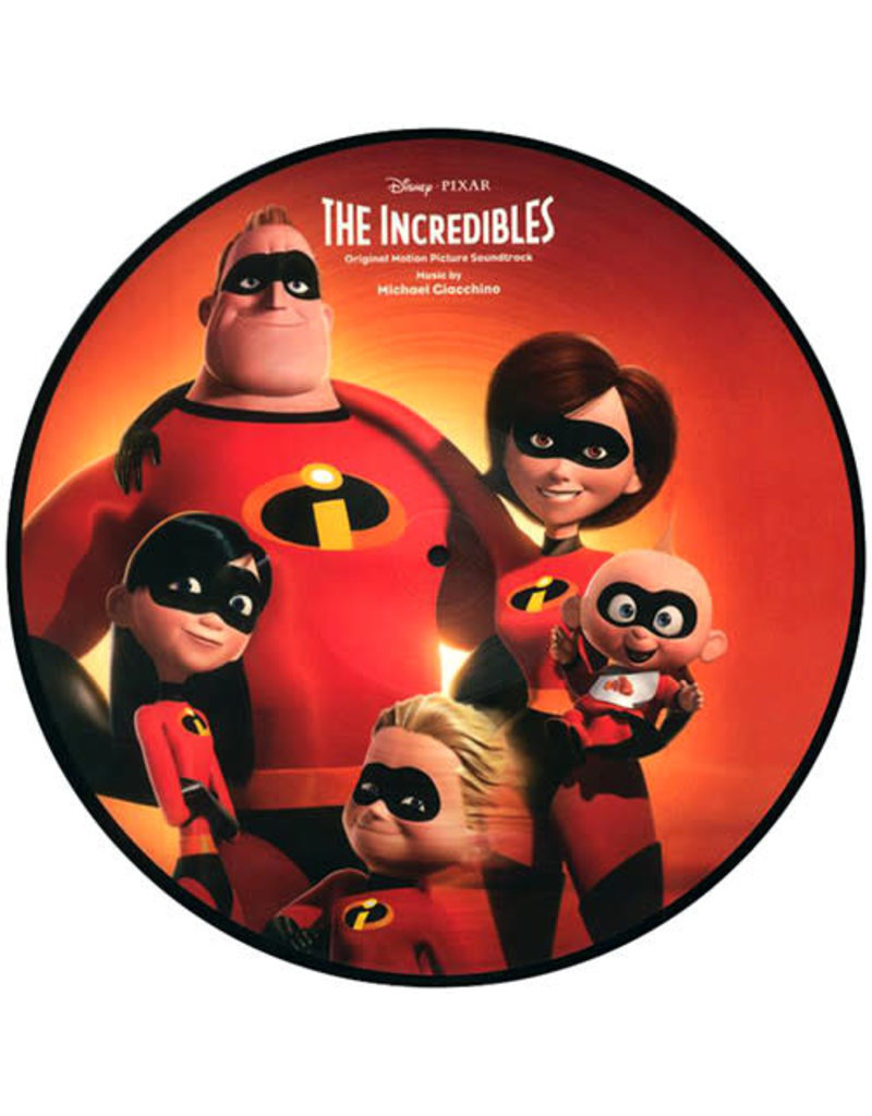 ST Michael Giacchino ‎– The Incredibles , Picture Disc  [RSD2018]