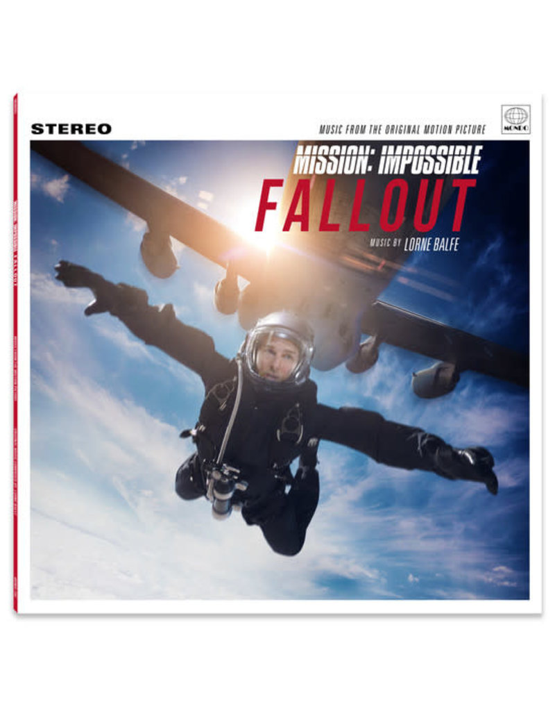 "Lorne Balfe ‎– Mission: Impossible Fallout OST LP+7"", Shape, Single Sided, Limited Edition, White Flexi Disc, Square"