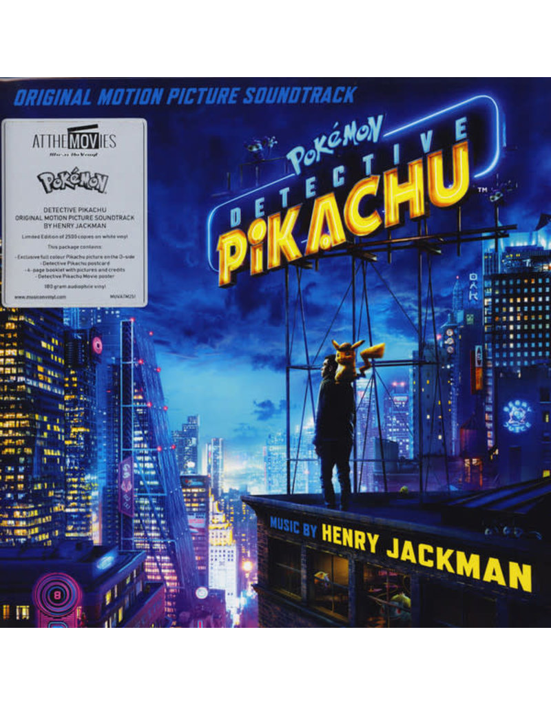 Henry Jackman ‎– Pokémon Detective Pikachu (Original Motion Picture Soundtrack) LP