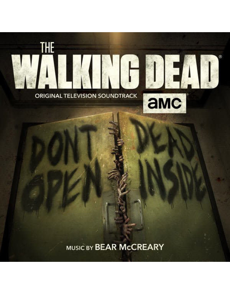 RK Bear McCreary – The Walking Dead OST (2017), Limited Edition, Green Marble