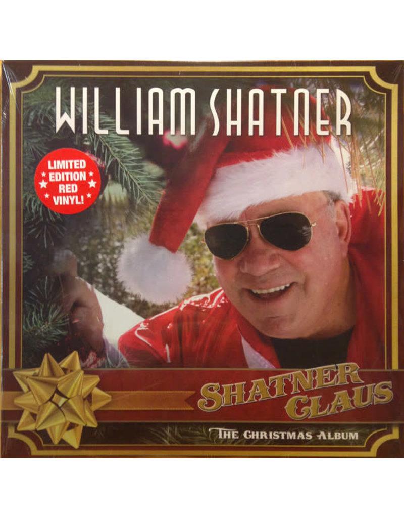 William Shatner – Shatner Claus - The Christmas Album (2018), Red Vinyl