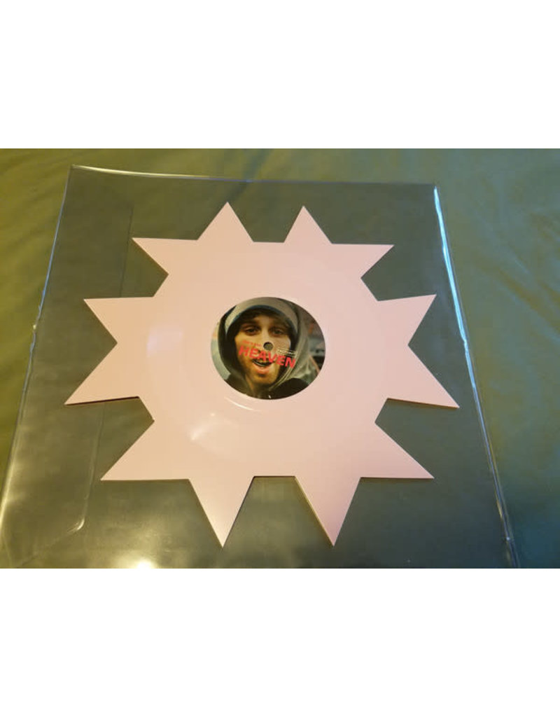 """Ariel Pink, Blood Orange – Heaven Knows What 7"""" Special Shape, Limited Edition, Pink"""