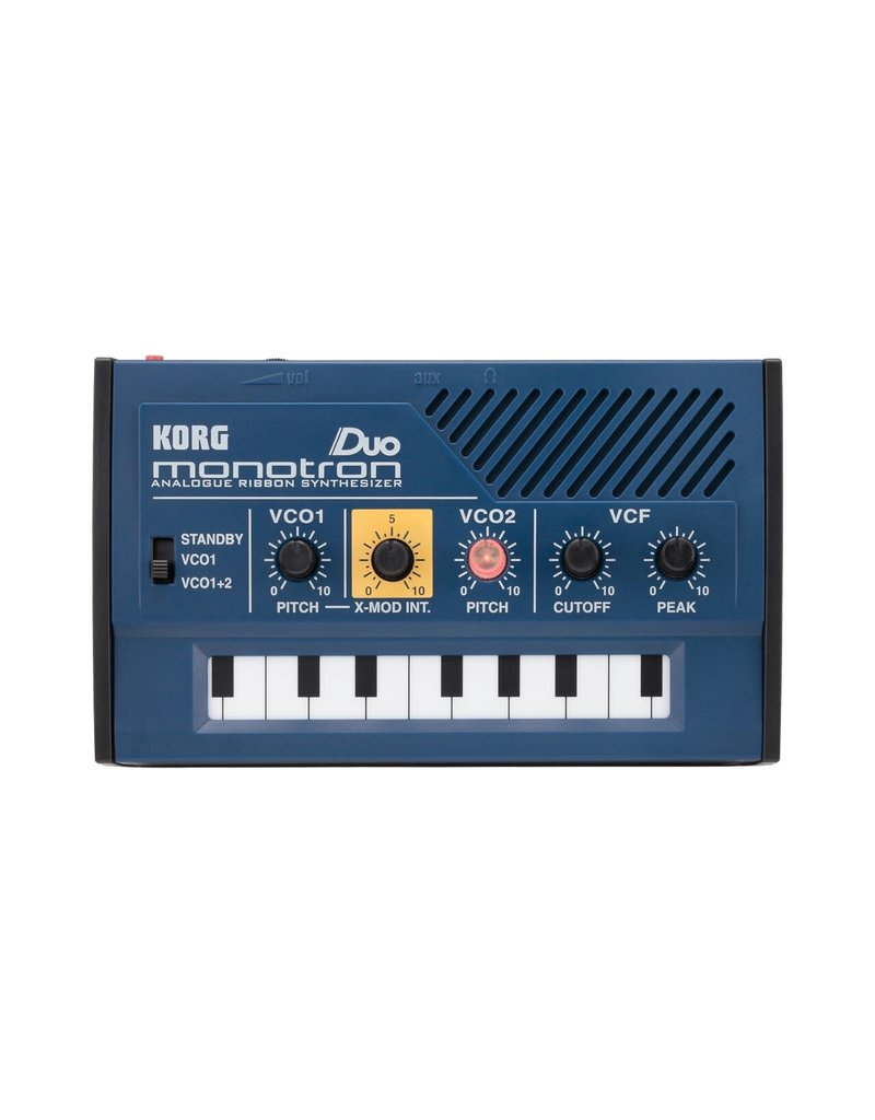 Korg Monotron Duo Poratble Analogue Ribbon Synthesizer